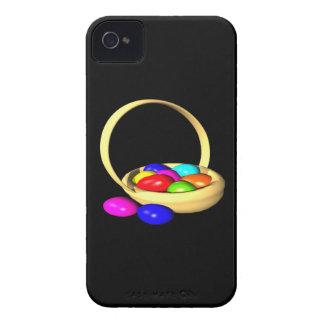 Cesta de Pascua iPhone 4 Protectores