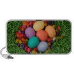 Cesta de Pascua - la primavera coloreada Eggs haba Altavoz