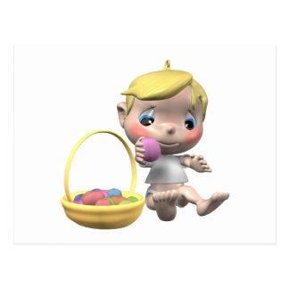 Cesta de Pascua Postales