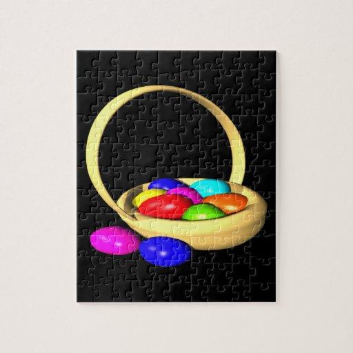Cesta de Pascua Puzzle