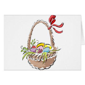 Cesta de Pascua Felicitacion