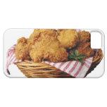 Cesta de pollo frito iPhone 5 carcasa
