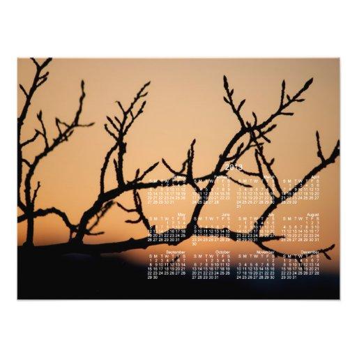 Cesta de puesta del sol; Calendario 2013 Arte Fotográfico