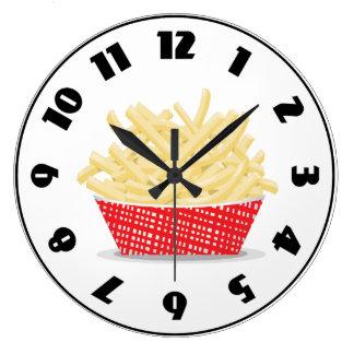 Cesta de reloj de las patatas fritas