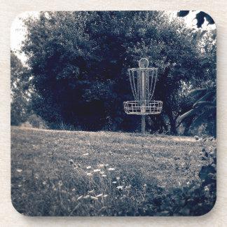Cesta del golf del disco del disco volador posavasos de bebida