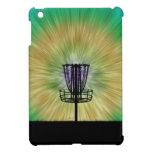 Cesta del golf del disco del teñido anudado iPad mini carcasa