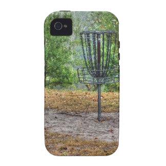 Cesta del golf del disco iPhone 4/4S carcasa