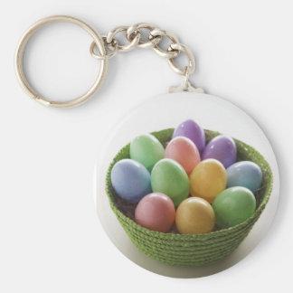 Cesta del huevo de Pascua Llaveros