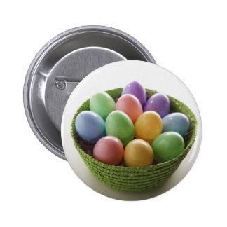 Cesta del huevo de Pascua Pins