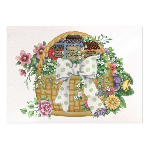 Cesta del regalo de la cocina del negocio - SRF Plantillas De Tarjetas De Visita