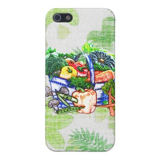 Cesta del Veggie iPhone 5 Coberturas