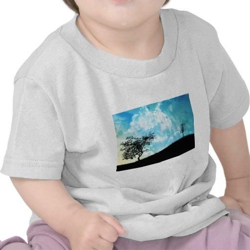 Cesta en una colina #2 camiseta