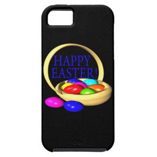 Cesta feliz de Pascua iPhone 5 Fundas