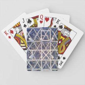 cesta plástica barajas de cartas