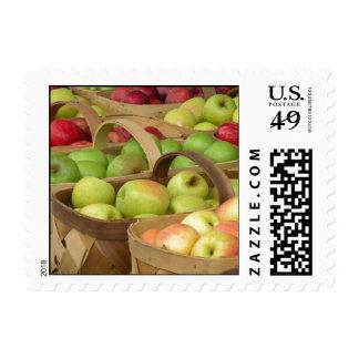 Cestas de Apple en el mercado Sellos