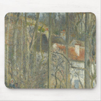 Cete des Boeufs, the Hermitage by Camille Pissarro Mouse Pad