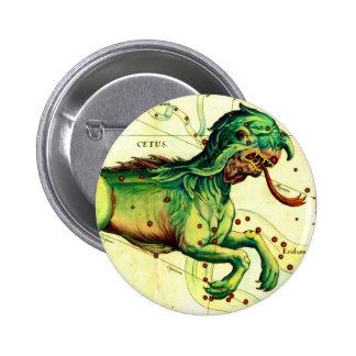 Cetus Sea Monster Creature Myth Fantasy Pinback Button