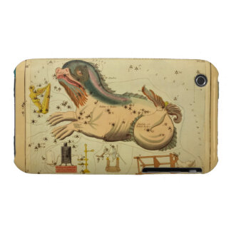 Cetus - Vintage Astronomical Star Chart Image iPhone 3 Cover