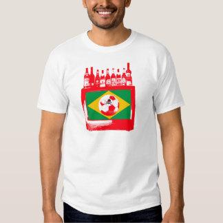 céu de futebol brasileiro t shirt