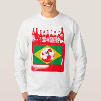 céu de futebol brasileiro tee shirt