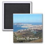 Ceuta (España) Imán Cuadrado