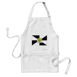 Ceuta flag adult apron