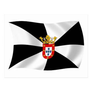 Ceuta Flag Postcard