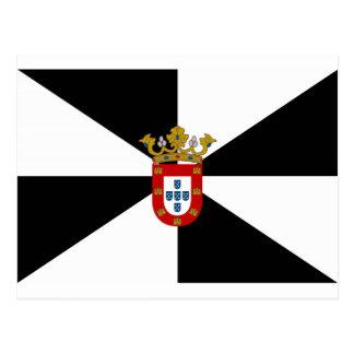 Ceuta (Spain) Flag Postcard