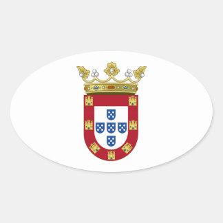 Ceuta Spain Oval Stickers