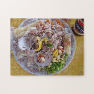 Ceviche and Beer - Peruvian Style Jigsaw Puzzle