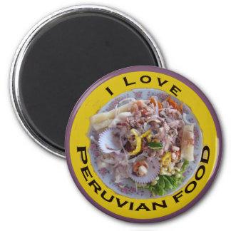 Ceviche Fridge Magnet
