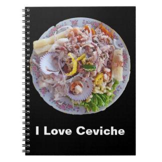 Ceviche - orgullo de Perú Libros De Apuntes