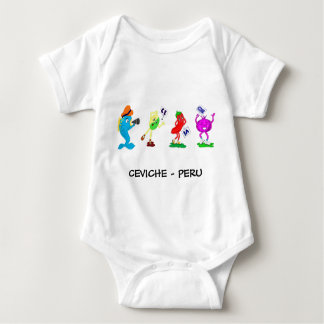 CEVICHE - PERU BABY BODYSUIT