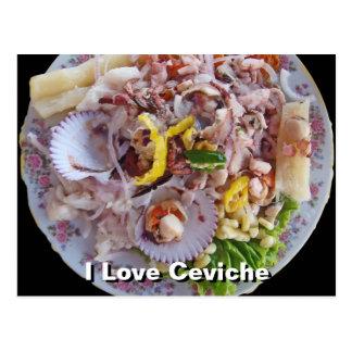 Ceviche - Pride of Peru Post Cards