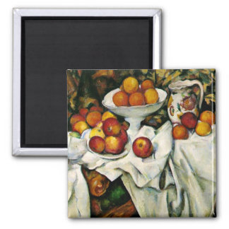 Cezanne - Apples and Oranges Magnet
