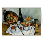 Cezanne - Basket of Apples Card