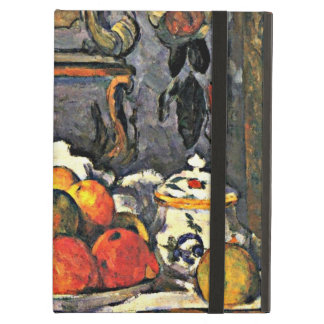 Cezanne - Dish of Apples-1879 iPad Air Cover