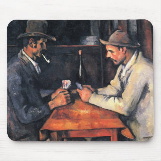 Cezanne: El jugador de tarjeta Alfombrilla De Ratones