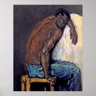 Cezanne - el negro Scipio Póster