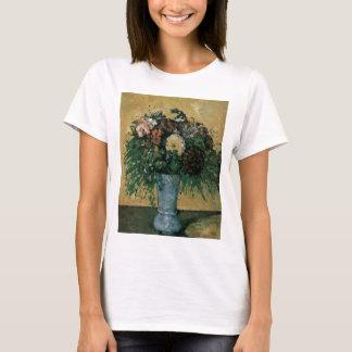 Cezanne Flowers in a Blue Vase T-Shirt