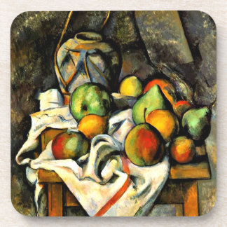 Cezanne - Ginger Jar and Fruit Coaster