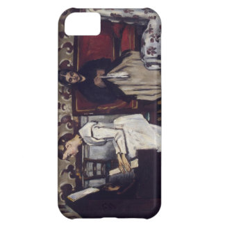 Cezanne Girl At The Piano iPhone 5C Cases