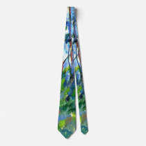 Cezanne - In the Woods -1898 Tie