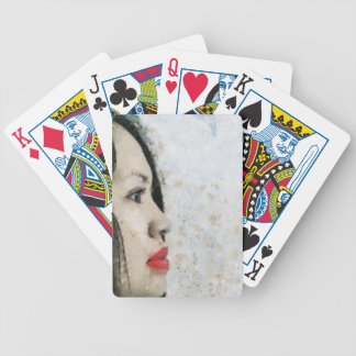 Cezanne Inspired Filipino Girl Bicycle Playing Cards