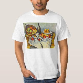 Cezanne la cesta de camiseta de las manzanas