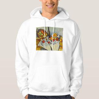Cezanne la cesta de sudadera con capucha de las