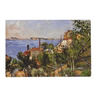 Cezanne - Landscape, Study After Nature Placemat at Zazzle