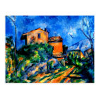 Cezanne - Maison Maria with a View of Chateau Noir Postcard