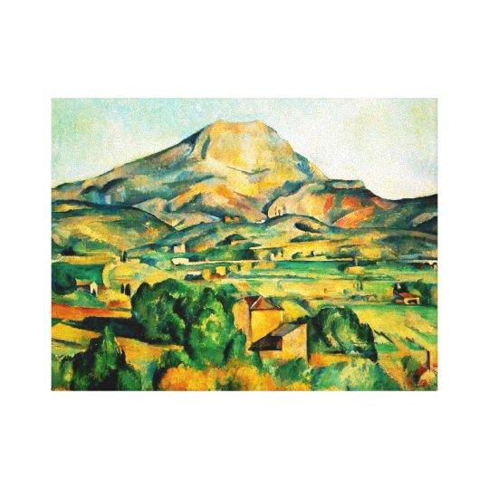 Cezanne Mont Sainte-Victoire Canvas Print