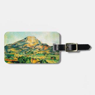 Cezanne Mont Sainte-Victoire Luggage Tag